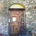 ingresso della locanda