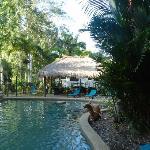 Pool - BBQ area
