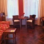 salotto della camera/living room