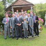 The boys at gazebo
