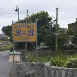 Sign on the roadside
