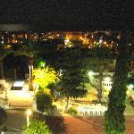 Ausblick vom Zimmer nachts