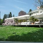 Sommerterrasse Grand Casino Baden