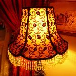 Lamp in Sitting Room