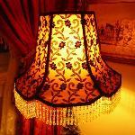 Lamp in Sitting Room