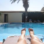 la piscine de l'hotel