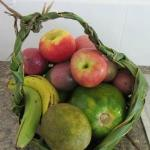 Lovely complimentary fuit basket