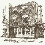 Local Artist's sketch of the pub