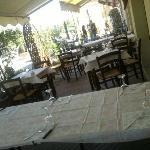 tavoli all'esterno
