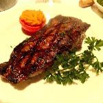 Splendide steak !