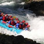 White Salmon River Rafting With Jr as our guide