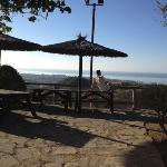 zona picnic con vista sul mare