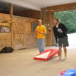 Corn Hole in the barn...