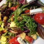 Baltimore's Best Greek Salad - downstairs in the Market