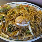 Shrimp noodles (similar to Pad Thai)