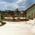 Picnic area and laundry/restroom - next to Pool/splash pad