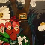Disney's Alice in Wonderland concept art drawn by Mary Blair from McAlester, OK