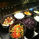 Vegetables on our Carvery