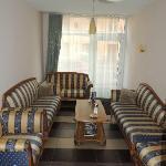 Lobby area at Hotel Liene