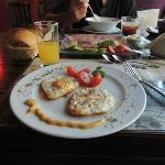 Breakfast at Hotel Liene restaurant
