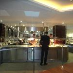 The Kitchen from the Chefs Table