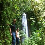 Hidden Waterfall in the El Castillo mountains/forest.