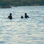 Kids enjoying the water
