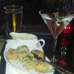 Happy Hour with Fried Artichokes & $5.00 Martini