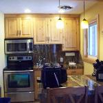 Kitchen area was very nice