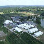 Aerial View of Huber's Orchard and Winery Property