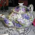Beautiful lavender teapot