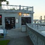 The Dockside grill, John Wayne Landing