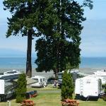 Paradise RV Park located next to Parksville beach