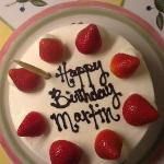 Birthday cake for our son......Delicious, brilliant, nice and light very very great