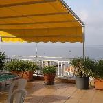 terrazzo solarium con vista mozzafiato
