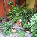Detalle de uno de los patios