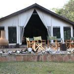 Dining Tent exterior