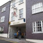 Exterior view of the Friar's Lodge in Kinsale
