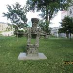 Quebec Museum of Fine Arts - Jardim de esculturas Julie e Christian Lassonde.
