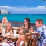 Oceanfront views at Hula Grill Waikiki