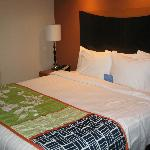 Very Comfortable Triple Sheeted King Bed in King Suite Room