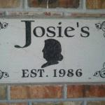 Josie's welcome sign!