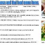 *new* Vietnamese & Thai food menu items at Golden Beach. (facebook.com/goldenbeachrestaurant)