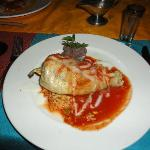 Chili relleno at Don Diego