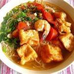 Crab Noodle Soup - Bun Rieu