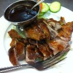 sumptuous Peking duck