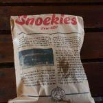 The history of Snoekies is on the bag!