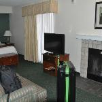 Blick von der Tür in die Suite