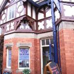 The Winding House Tea Rooms are in a Grade II listed building right next to Bridgnorth Cliff Rai