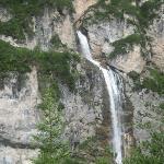Cascata vista dal Belvedere (percorso n 10)